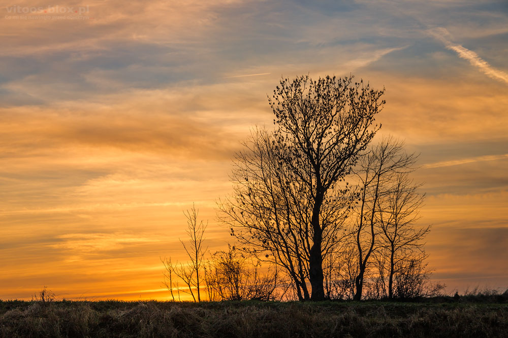 Fot. Witold Ochał zachód słońca