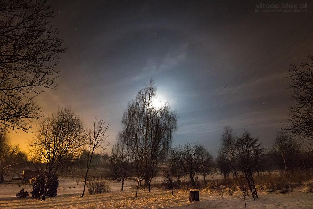 Fot. Witold Ochał, halo Księżycowe