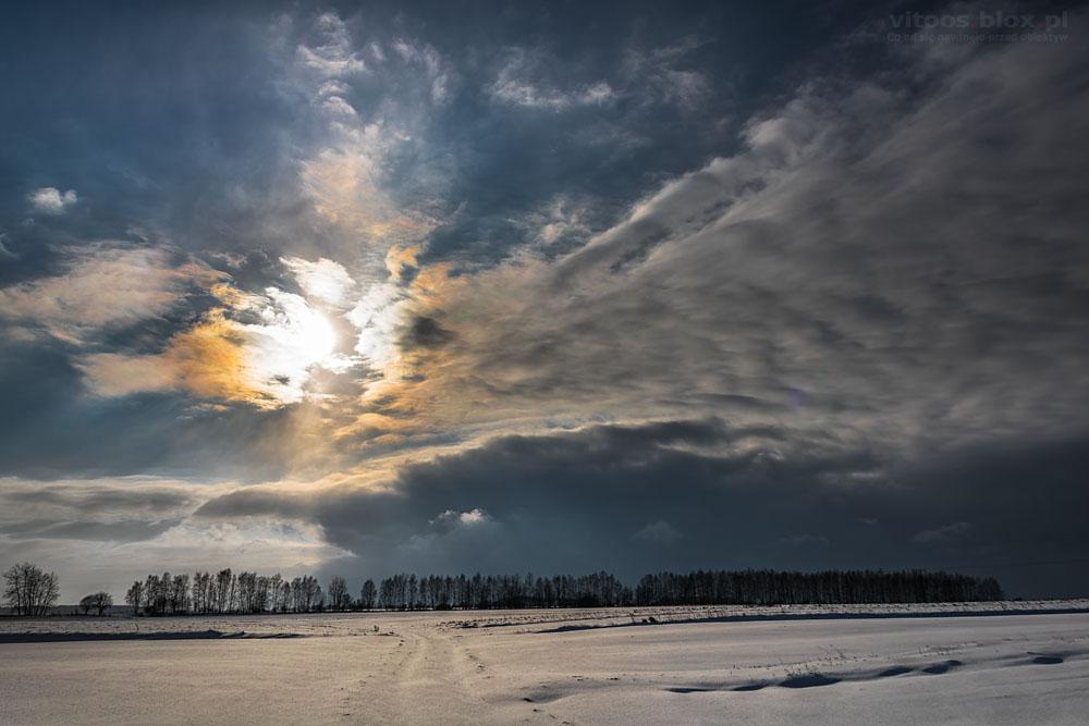 Fot. Witold Ochał, wieniec słoneczny
