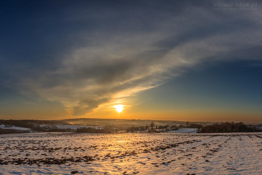 Fot. Witold Ochał, zimowy pejzaż