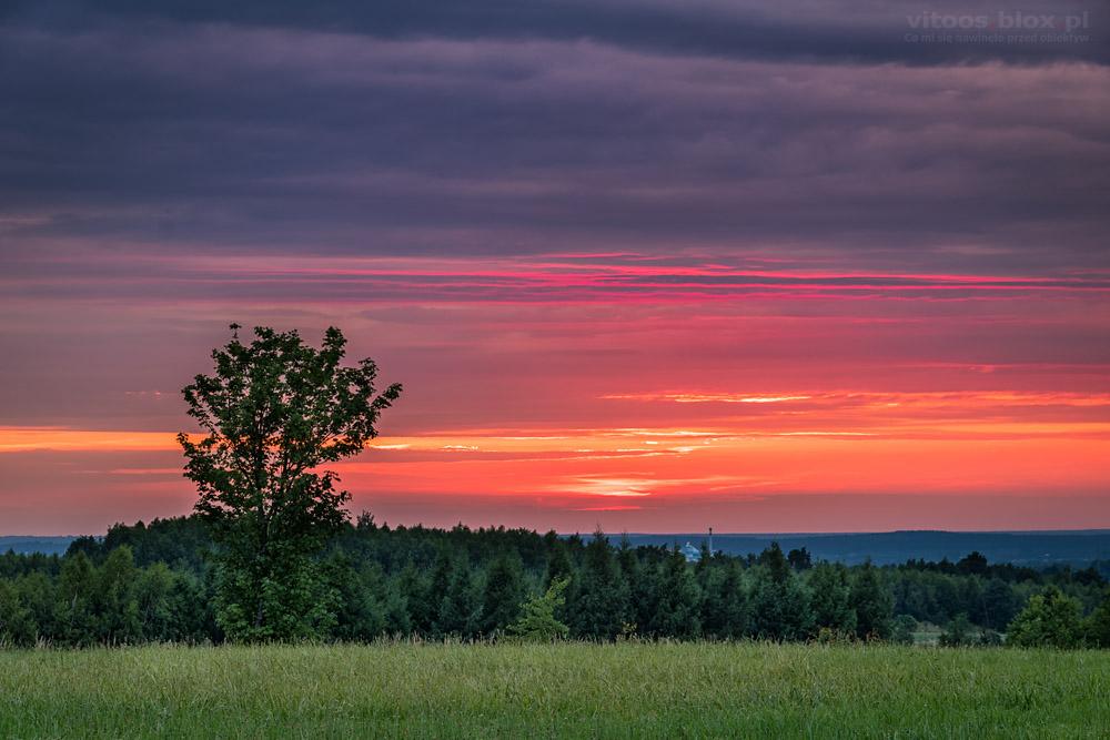 Fot. Witold Ocahł, zachody słońca