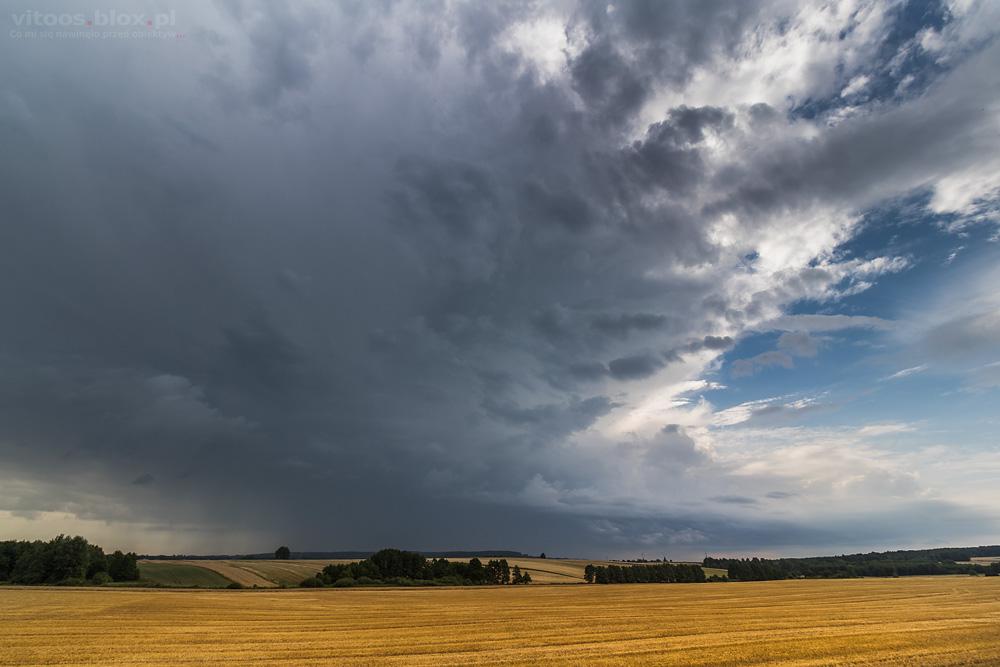 Fot. Witold Ochał, burza
