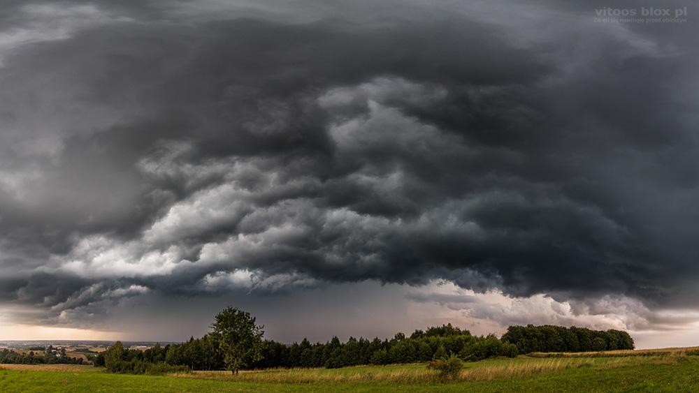 Fot. Witold Ochał, Sędziszów Małopolski, burza, downburst