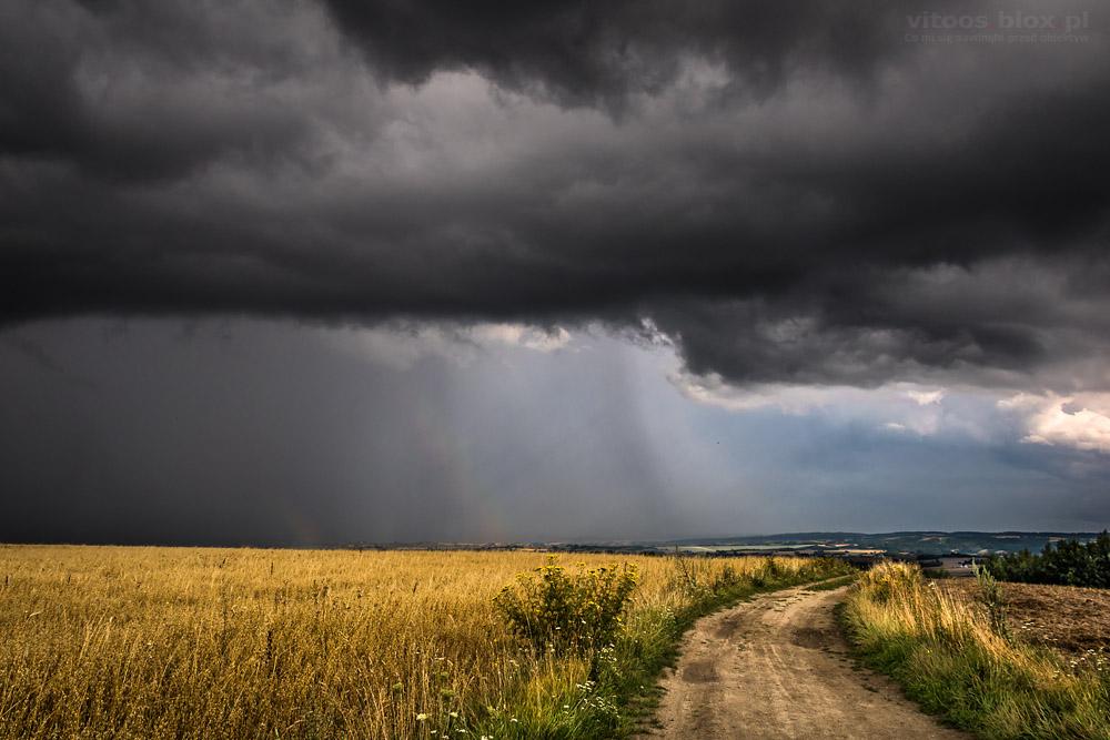 Fot. Witold Ochał, burza w okolicy Rzeszowa