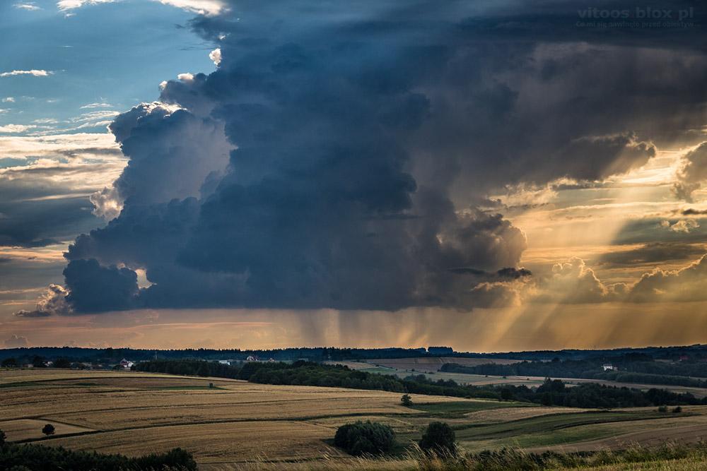 Fot. Witold Ochał, ciekawe chmury