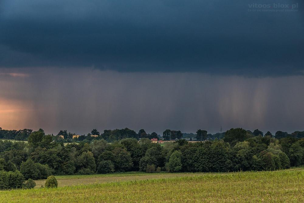 Fot. Witold Ochał, burza, Sędziszów Małopolski