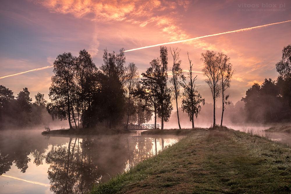 Fot. Witold Ochał, zalew w Kamionce