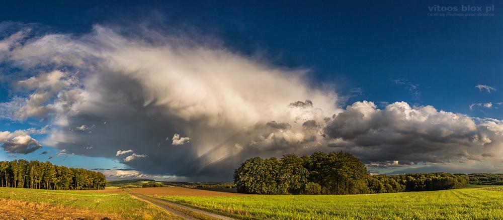 Fot. Witold Ochał, Zagorzyce, Sielec, chmura konwekcyjna, burza