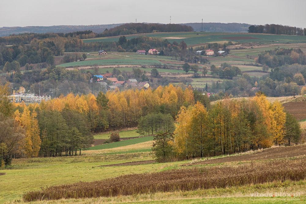 ot. Witold Ochał, jesien na wsi, Zagorzyce